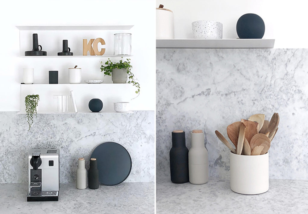 marble selection kitchen